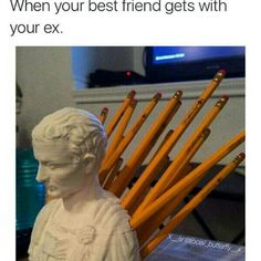 Julius Caesar Pencil Holder Endearing Pingrace Michelle On Spare Laughs  Pinterest Inspiration Design