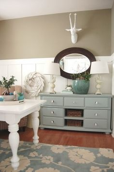 I need to find a dresser like this to repaint and use as a sideboard in my kitchen.