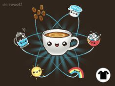 Coffee Science - tee by InfinityWave on DeviantArt Stand Quotes, The Last Drop, Coffee Stands, Beyond The Sea, Take My Money, Cute Tshirts, Coffee Quotes, Coffee Art, 4 Kids
