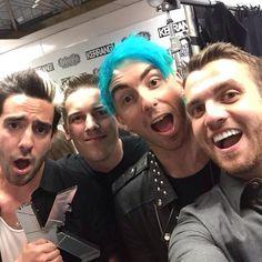 All Time Low at Kerrang! Awards 2015