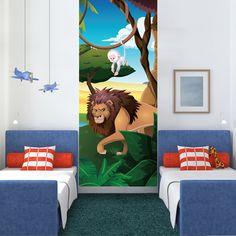 Idée de déco : Le lion, lé unique