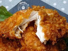 Poulet ultra croustillant façon KFC - The Best Sea Recipes Meat Recipes, Healthy Dinner Recipes, Crockpot Recipes, Chicken Recipes, Cooking Recipes, Kfc Chicken Recipe, Crispy Chicken, Baked Chicken, Pollo Kfc