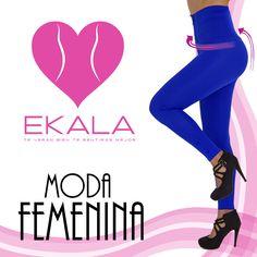 Permítete lucir esbelta, usa #legginsreductores #ekala #modafemenina