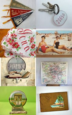Etsy Vintage Team Souvenirs of Summer  --Pinned by xurple.etsy.com with TreasuryPin.com