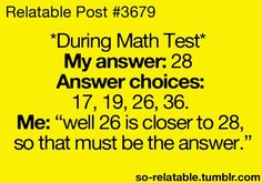 This is me a lot. knowing I got that answer wrong, but I don't know any other way to figure it out.