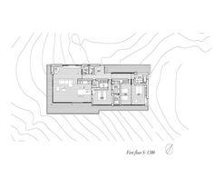 House in Yatsugatake,First Floor Plan