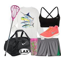 Lacrosse ❤ love it! Cute Crosse, Guy Harvey, Nike and Lilly