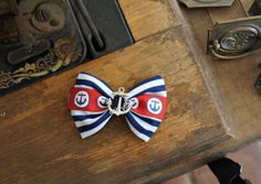 Olivia Paige  ROckabilly Anchor bow Pin up by OliviaPaigeClothing, $5.00