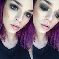 I'm feelin myself, I'm feelin, I'm feeling myself totally feeling this makeup today. #twofaced #twofacedchocolatesoleil #morphebrushes #morphepalette #morphe35o #katvondbeauty #katvondmakeup #katvondcosmetics #katvondshadelight #betterthansexmascara #stilamindpalette #ebaylashes #nyxcosmetics #nyxcontourkit #nyxjumboeyepencil #nyxblackbeanpencil