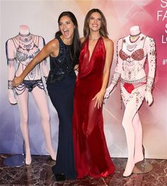 Most of us ladies spend around $50 on a great bra. But Adriana Lima and Alessandra Ambrosio not so much. The sexy supermodels recently showed off the Victoria's Secret $2 million Dream Angels Fantasy bras. Whoa!