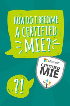 To become an MIE Expert, you need to first become a Certified MIE. That journey starts here.