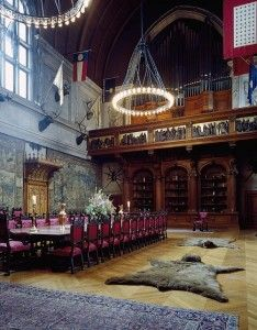 Check out the Biltmore's banquet hall.  Positively medieval . . . and echoey.  (Carol M. Highsmith)