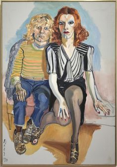 Alice Neel: Jackie Curtis ja Ritta Redd, The Cleveland Museum of Art, Leonard C. Fund, Kuva: The Cleveland Museum of Art © Estate of Alice Neel Alice, Figure Painting, Painting & Drawing, Velvet Goldmine, Tamara Lempicka, Critique D'art, Art Criticism, Cleveland Museum Of Art, Wow Art