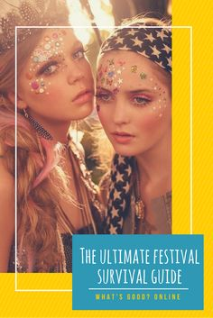We've put together the ultimate summer music festival guide so that you can party hard. Including top tips, tricks, hacks, ideas and DIY tutorials on the best festival fashion styles, makeup, outfits, glitter, camping and so much more.