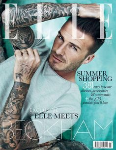 David Beckham - ELLE UK July 2012