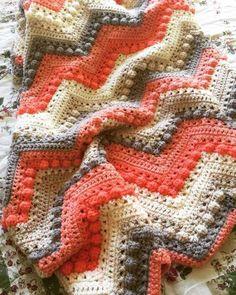 Crochet Hugs & Kisses Baby Blanket By Jeane Steinhilber Caron Cakes Crochet, Baby Afghan Crochet, Manta Crochet, Afghan Crochet Patterns, Crocheted Afghans, Crochet Crafts, Crochet Yarn, Crochet Stitches, Crochet Projects