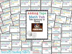 Adding Tape Math
