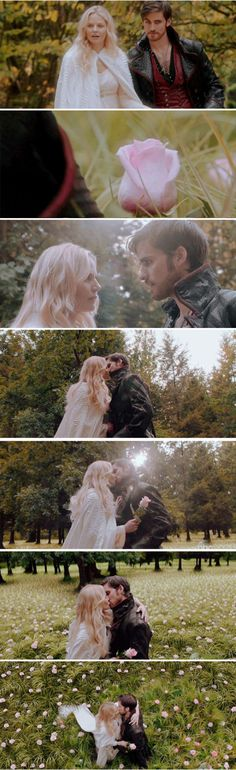 "Moments of Emma and Hook - 5 * 4 ""Broken Kingdom"" #CaptainSwan"