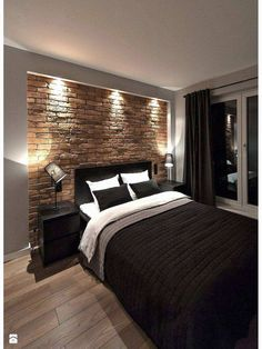 Bedroom Design Inspiration & 2 great designs that will inspire you! # The post Bedroom Design Inspiration Home Decor Bedroom, Modern Bedroom, Home Bedroom, Bedroom Design Inspiration, Cool Room Decor, Bedroom Interior, Luxurious Bedrooms, Mens Room Decor, Remodel Bedroom