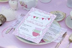 Mother Daughter Tea Party! on http://pizzazzerie.com
