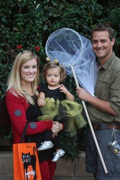 Halloween costume idea: ladybug, bee, bug catcher