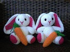 Resultado de imagem para pinterest coelhos em croche