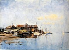 Edward Seago Watercolors | Edward Seago