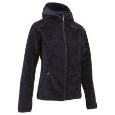 Polaire Randonnée, Camping - Polaire Femme Forclaz 400 QUECHUA - Vêtements randonnée BLACK