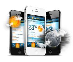 TwojaPogoda App by Lukasz Sokol, via Behance