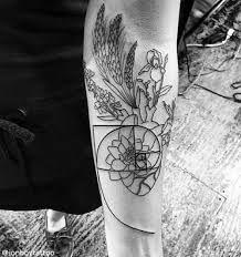 monochrome botanical tattoo - Google zoeken