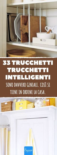 33 trucchi intelligenti per tenere più in ordine la casa. Casa Milano, Bathroom Cleaning Hacks, Deep Cleaning, Ideas Para Organizar, Home Management, Home Safes, Tidy Up, Home Organization, Clean House