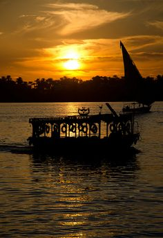 The Nile at Luxor, Egypt  we can take you there: http://www.RealEgypt.Net  https://www.facebook.com/RealEgypt.info