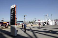 Olympic Stadium Wayfinding - Jenny Rice Graphic Design