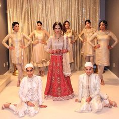 """ Brides and entire bridal parties outfits designed by Wellgroomed """