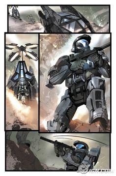 TdotComics | Does 'Halo' work as a comic?
