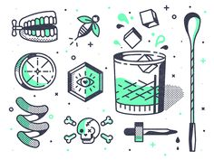 Happy Hour by TNKR #Design Popular #Dribbble #shots