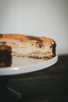 Recipe for Argentinean Ricotta cake/tart with Dulce de Leche | by fit for the…