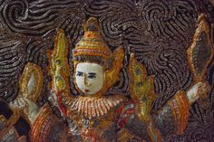 Antique Thai Embroidery with Jewel