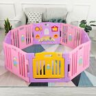 Baby Playpen 8 Panel Kids Safety Play Center Yard Home Indoor Outdoor Fence Pink ( 27 Bids ) Baby Playpen, Kids Safety, Play Centre, Plastic Laundry Basket, Fence, Indoor Outdoor, Toddler Bed, Yard, Pink