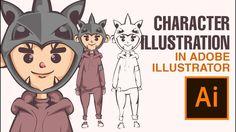 Adobe Illustrator Tutorial: How to Make a Character Allvin Garamar (FULL)