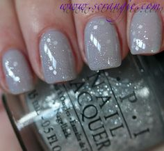 I love the new OPI NYC Ballet Collection. This is my favorite combo, OPI My Pointe Exactly with a coat OPI Pirouette My Whistle over it. Very nice.
