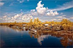 Gasing, Tanjung Api Api, South Sumatera by: Soga Palembang, Stones, Clouds, World, City, Travel, Outdoor, Outdoors, Rocks