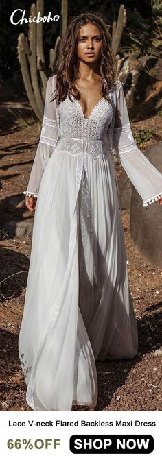 New wedding dresses lace bohemian gypsy fashion Ideas Bohemian Wedding Dresses, New Wedding Dresses, Boho Dress, Lace Dress, Bridesmaid Dresses, Bohemian Weddings, Boho Bridesmaids, White Dress, Bohemian Bride