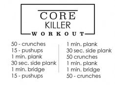 Core Killer Ab Workout | Movara Fitness Resort