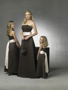 Outlet bridesmaid dresses are available in various styles and colors