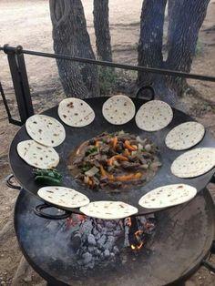 Back yard cookin