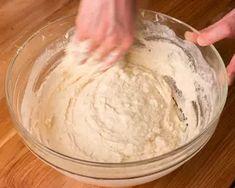 Kenyérlángos (langalló)   Bérczi Róbert receptje - Cookpad receptek Naan, Icing, Desserts, Food, Tailgate Desserts, Deserts, Essen, Postres, Meals