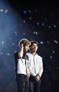 EXO Baekhyun and Sehun