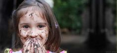 Did you know getting dirty outdoors has big benefits for kids?