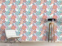 Design #Tapete Gloria Flori Pastell